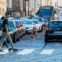 Praha, 29. 8. 2017, doprava, kolaps, omezení, zácpa, automobil, MHD, turista, turisté, turistika, turismus, asiat HN - LukᚠBíba